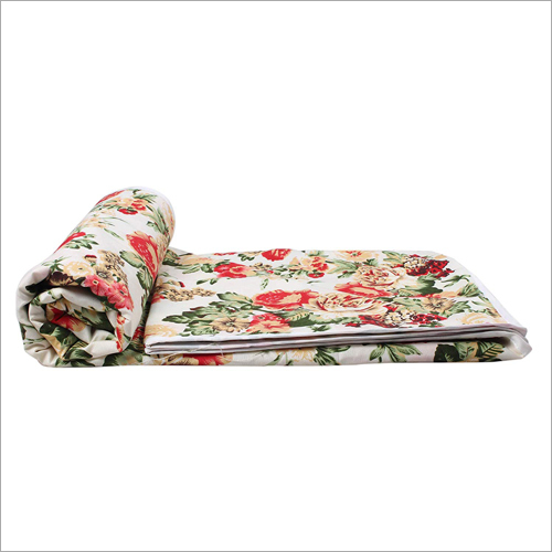 Reversible Poly Cotton Printed AC Single Blanket
