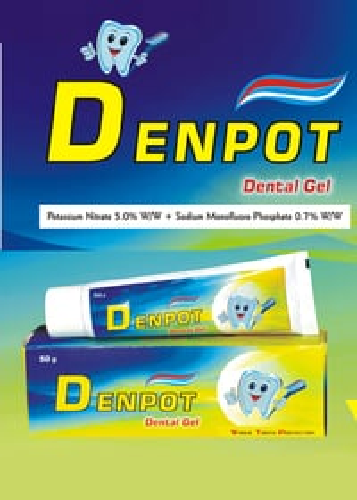 DENpot-F  ( Tooth Gel )