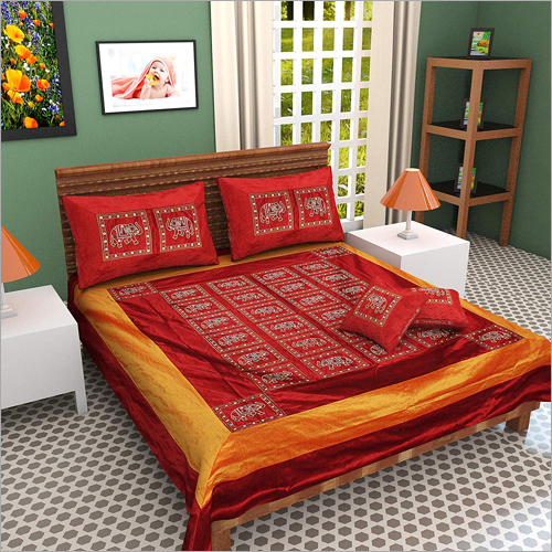 100% Pure Silk n Queen Size Double Bed Sheet