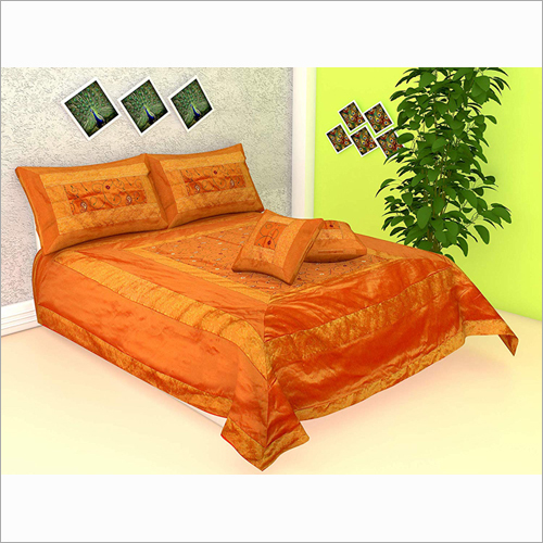 Embroidery Queen Size Double Bed Sheet