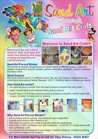 Sand Art Craft Cards