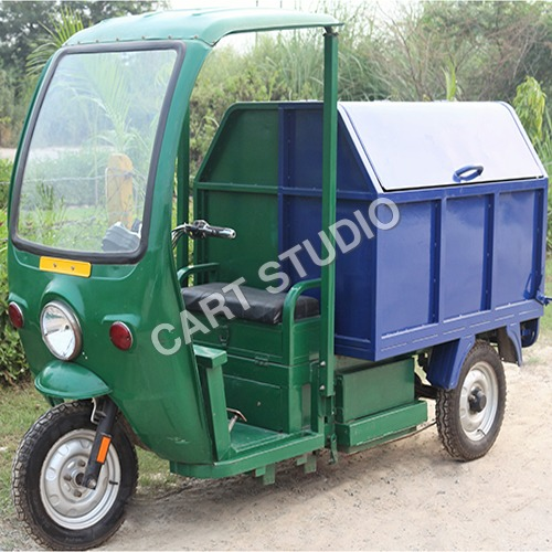 Garbage Collecting E Rickshaw