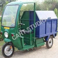 Garbage Collecting E Rickshaw