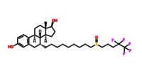 Fulvestrantly Powder Anti Estrogen API CAS 129453-61-8
