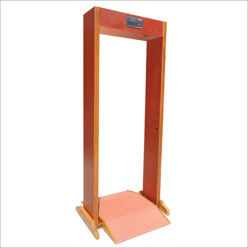 Single Zone Walk Through Metal Detector (Detachable Model)
