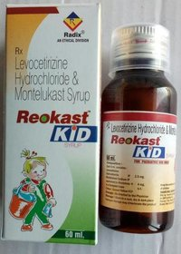 Montelukast 4 mg & Levocitrizine 2.5 mg per 5 ml