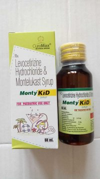 Montelukast 4 mg & Levocitrizine 2.5 mg per 5 ml