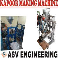 Camphor Tablet Machine