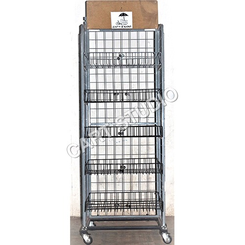 Display Trolley Rack
