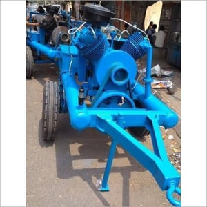 Portable High Pressure Trolley Mounted Air Compressor