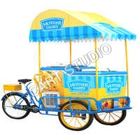 Ice Cream Vending Cart