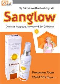 Sun Screen Lotion SPF , Octinoxate + Avobenzon + Oxybenzone  + Zinc Oxide