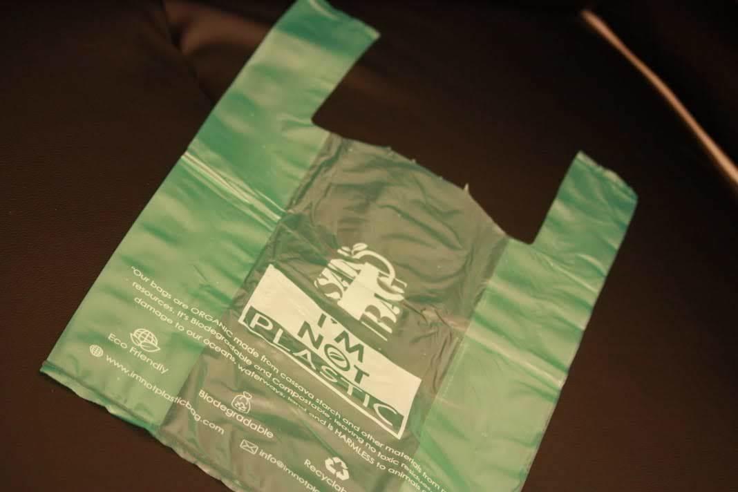 U Cut Biodegradable T-Shirt Bag