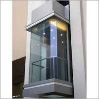 Transparent Glass Panoramic Elevator
