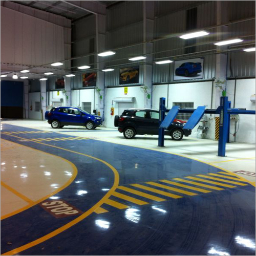 Car Deck Epoxy Flooring Services Antiskid
