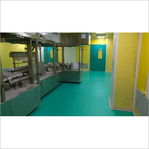 Pharmaceutical PU Flooring Services