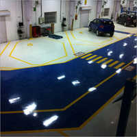 Automobile Company Flooring Services