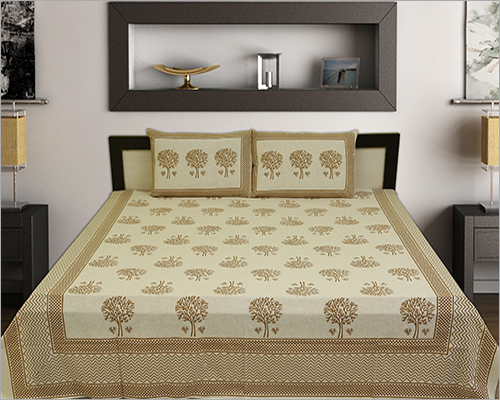 Tree Design Bed Sheet Set