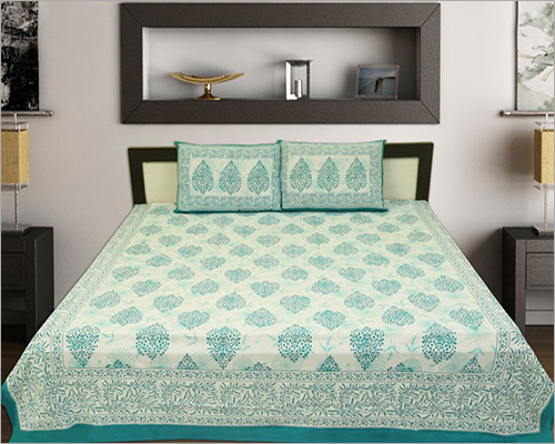 Block Printed Bed Sheet Set