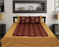 Coffee Color Bed Sheet Set