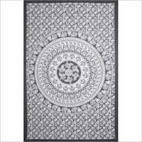 Black And White Colour Wall Tapestry