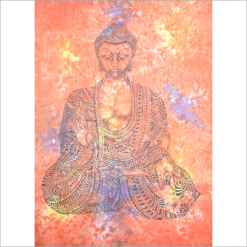 Budha Printed Wall Tapestry