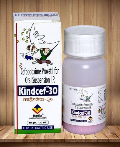 Cefpodoxime 50 Mg & 100 Mg Per 5 Ml