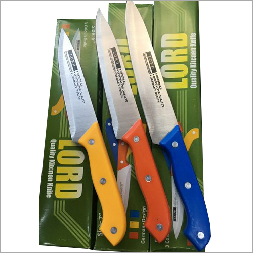 Steel Kitchen Knife Set