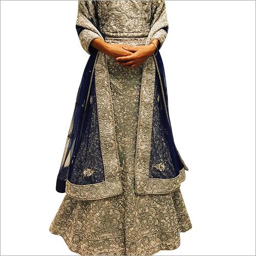 Silk Designer Lehenga