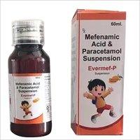 MEFENAMIC ACID + PARACETAMOL SYRUP