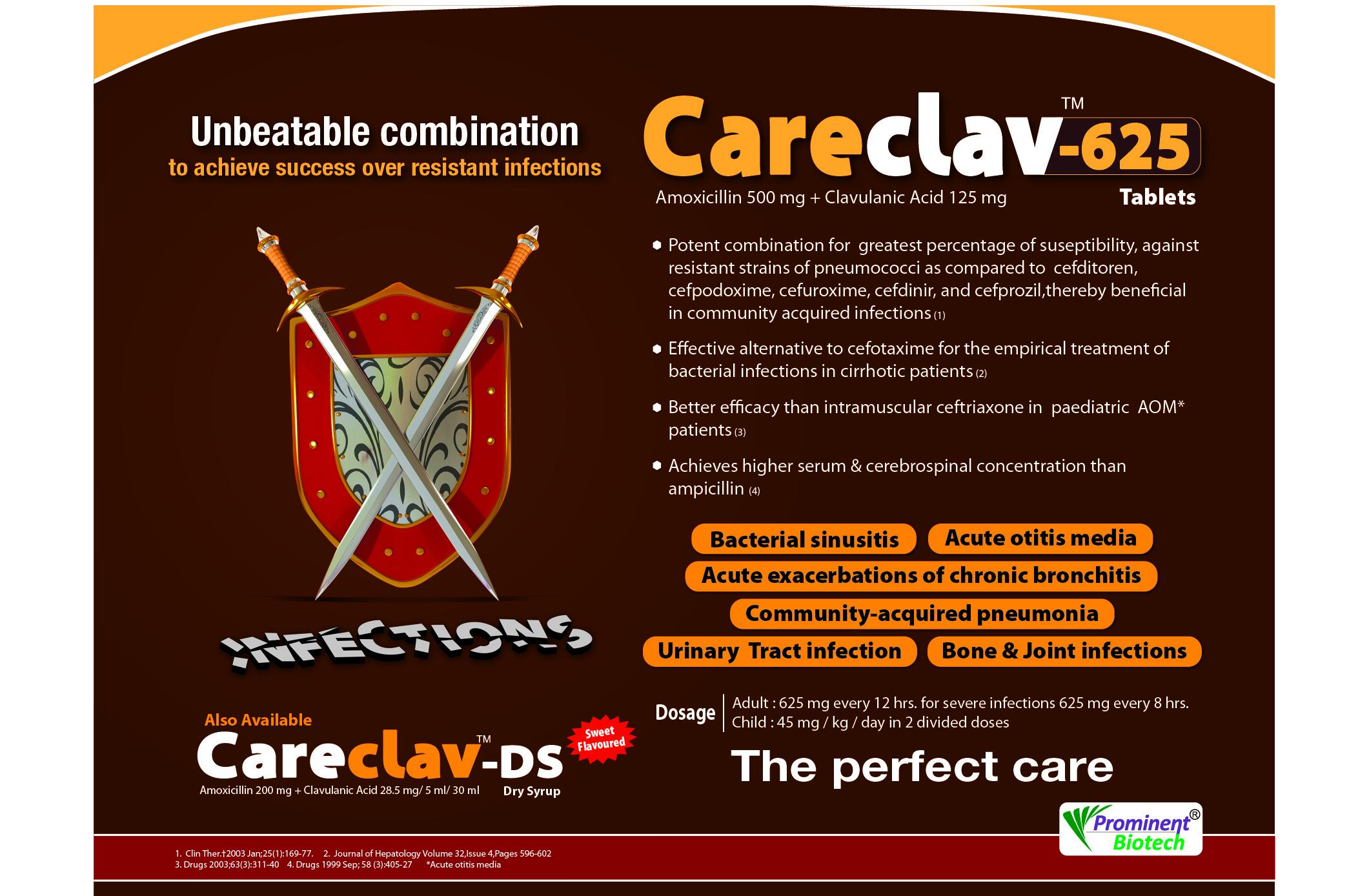 Amoxycillin 400 Mg & Clavulanic Acid 57.5 Mg Per 5 Ml