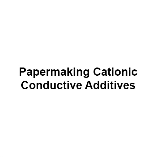 Papermaking Cationic Conductive Additive