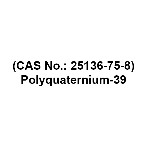 Polyquaternium 39 Chemical