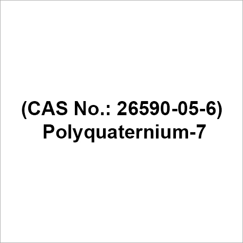 Daily Chemicals Additives