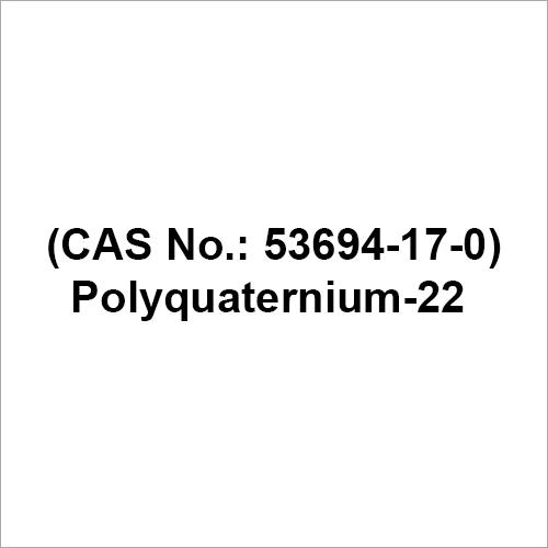 Polyquaternium 22 Chemical