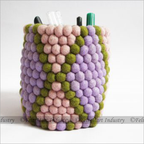 3 Colour Felt Pen Holder