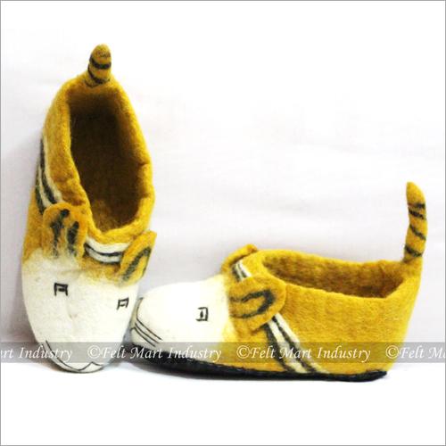 Felt Cat Shoes
