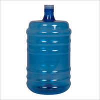 18 Liter Pet Bottle With Seal Pack Neck Blue Colour