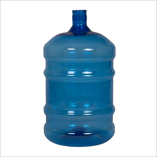 20 Liter Pet Bottle With Seal Pack Neck Blue Colour