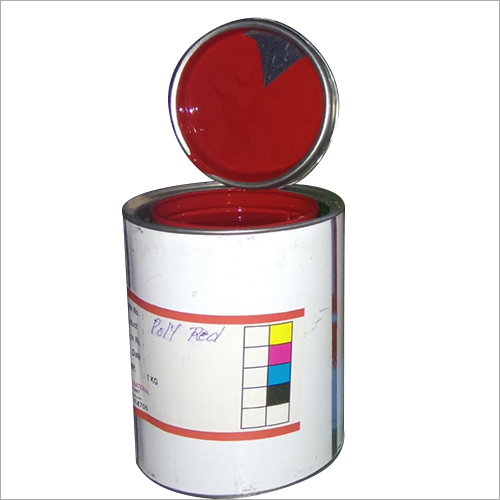 1 KG Poly Red Printing Ink