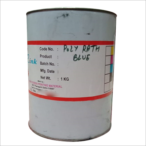 1 KG Poly Rath Blue Printing Ink