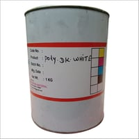 1 KG Poly White Printing Ink