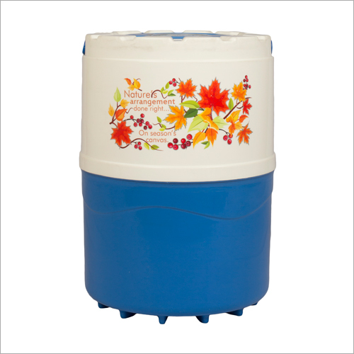 16 Ltr Body Water Capacity 14 Ltr Single Joint Body Swastik Blue-ivery