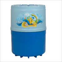 16 Ltr Body Water Capacity 14 Ltr With Single Joint Body Swastik Blue-light Blue