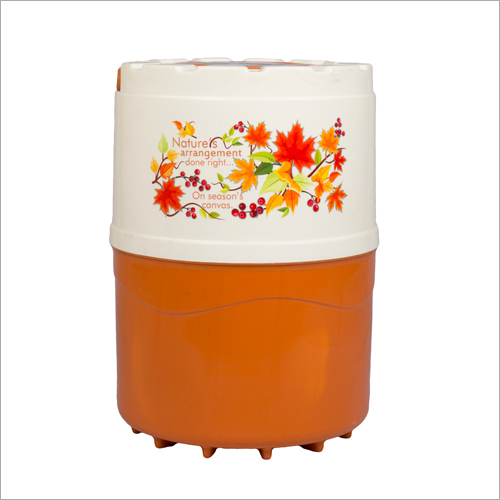 16 Ltr Body Water Capacity 14 Ltr With Single Joint Body Swastik Orange-ivery
