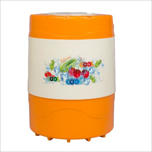 18 Ltr Body Water Capacity 14 Ltr Swastik Orange Insulated water jug