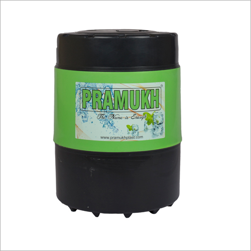 Pramukh Black green insulated water jug