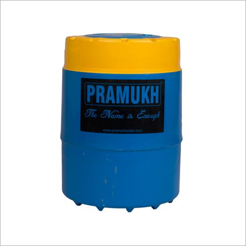 Pramukh Blue Yellow insulated water jug