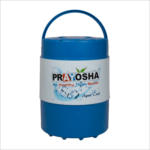 Prayosha Blue Back Look insulated water jug