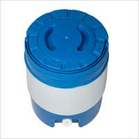 Prayosha Blue Top Look insulated water jug